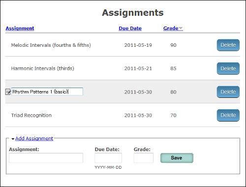 teacher console screenshot